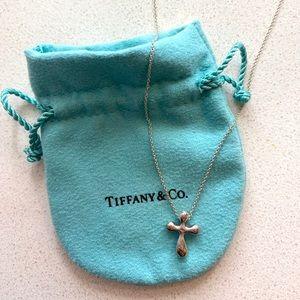 Tiffany & Co Cross Pendant Necklace